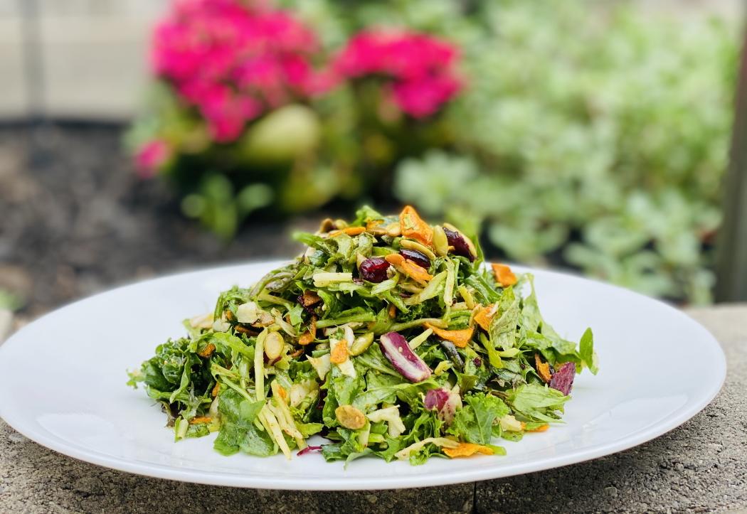 Arugula mix salad