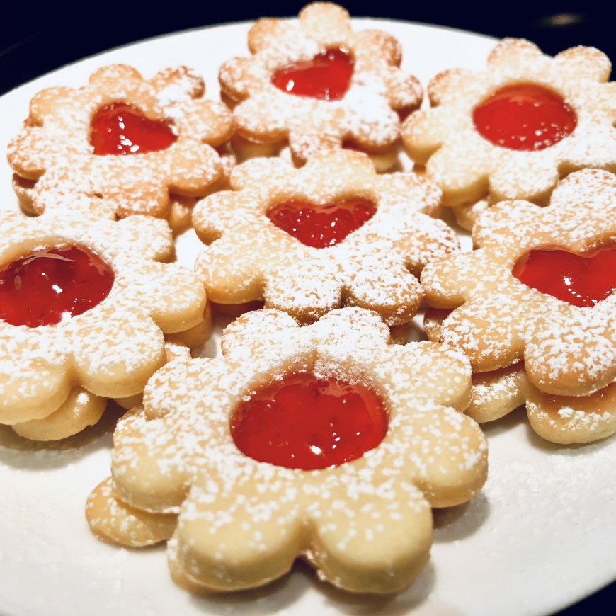 Flower's cookies